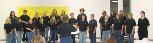 2004 - 2005 THS Mixed Choir
